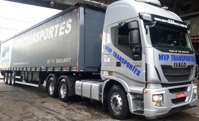Transportadora rodoviária internacional de cargas