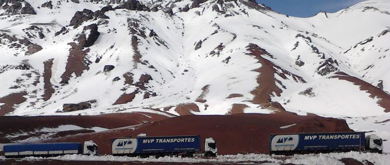 Transporte rodoviário internacional para Bolívia