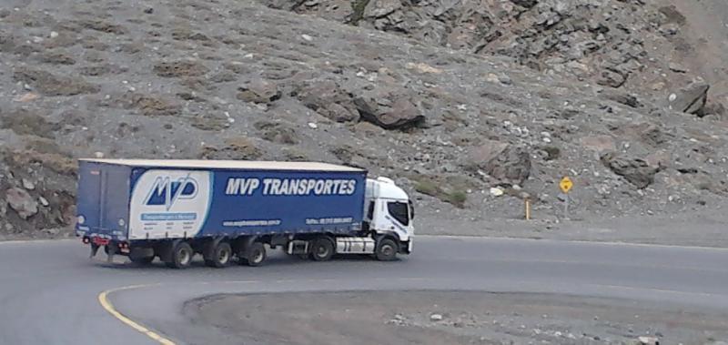 Transporte rodoviário internacional de cargas
